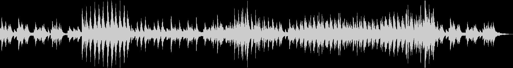 クライスレリアーナ第6曲の未再生の波形