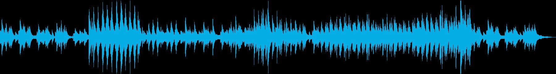 クライスレリアーナ第6曲の再生済みの波形