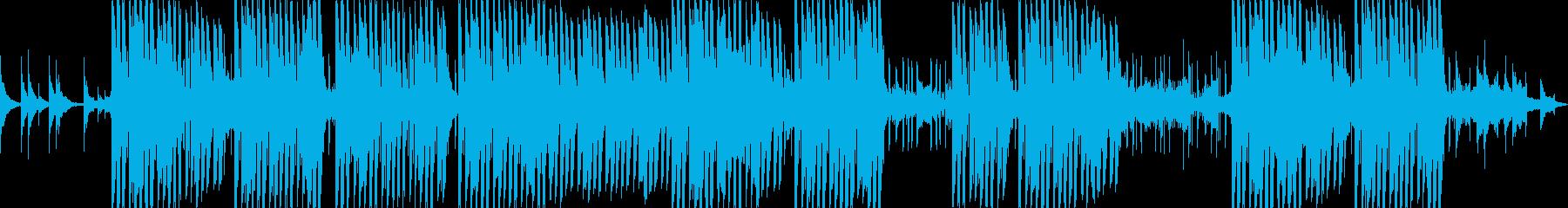 浮遊感のあるシンセが印象的なトラップの再生済みの波形