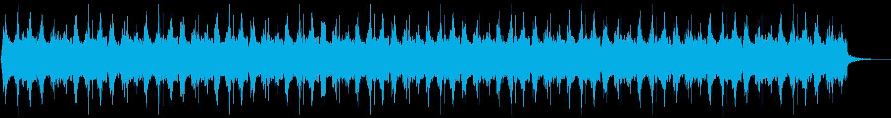 神秘的なホラーサウンドの再生済みの波形