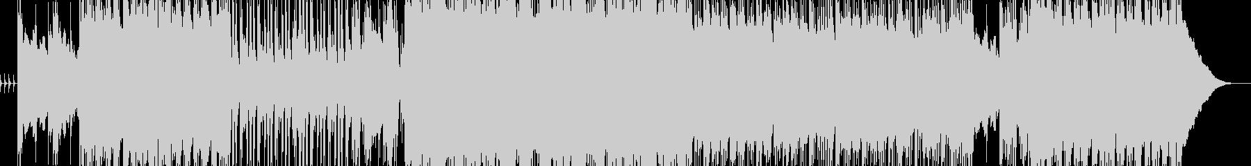 重厚感のあるダークなロックサウンドの未再生の波形