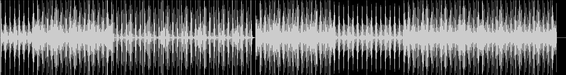 ピアノとストリングスでピクニックな雰囲気の未再生の波形