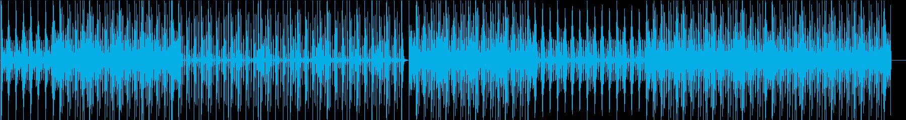 ピアノとストリングスでピクニックな雰囲気の再生済みの波形