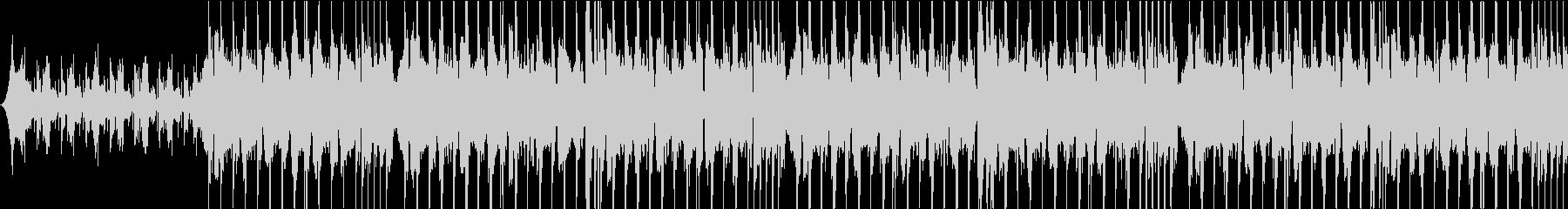 最先端テクノロジー感のあるサウンドロゴの未再生の波形