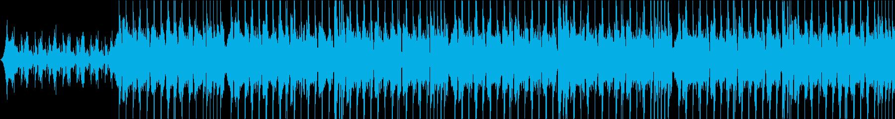 最先端テクノロジー感のあるサウンドロゴの再生済みの波形