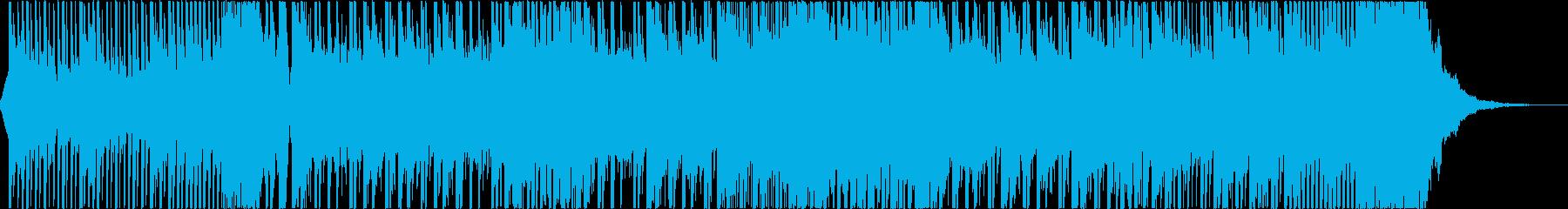 疾走感溢れるドラムンベースの再生済みの波形