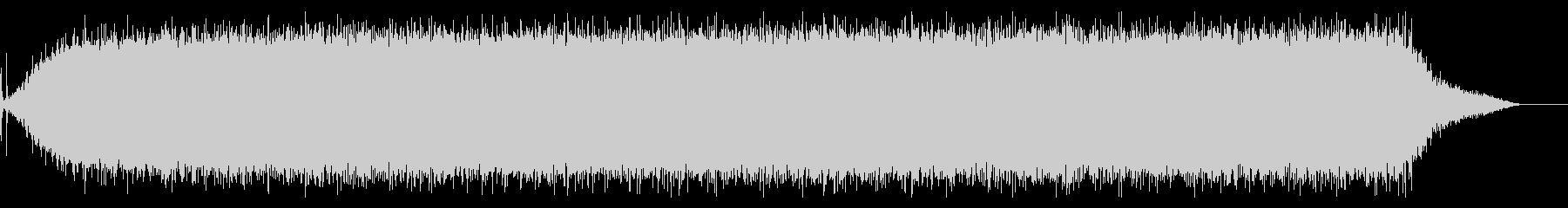 【生録音】ヘアドライヤーの音 2の未再生の波形