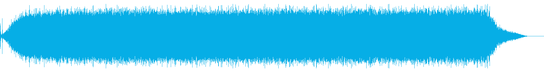 【生録音】ヘアドライヤーの音 2の再生済みの波形