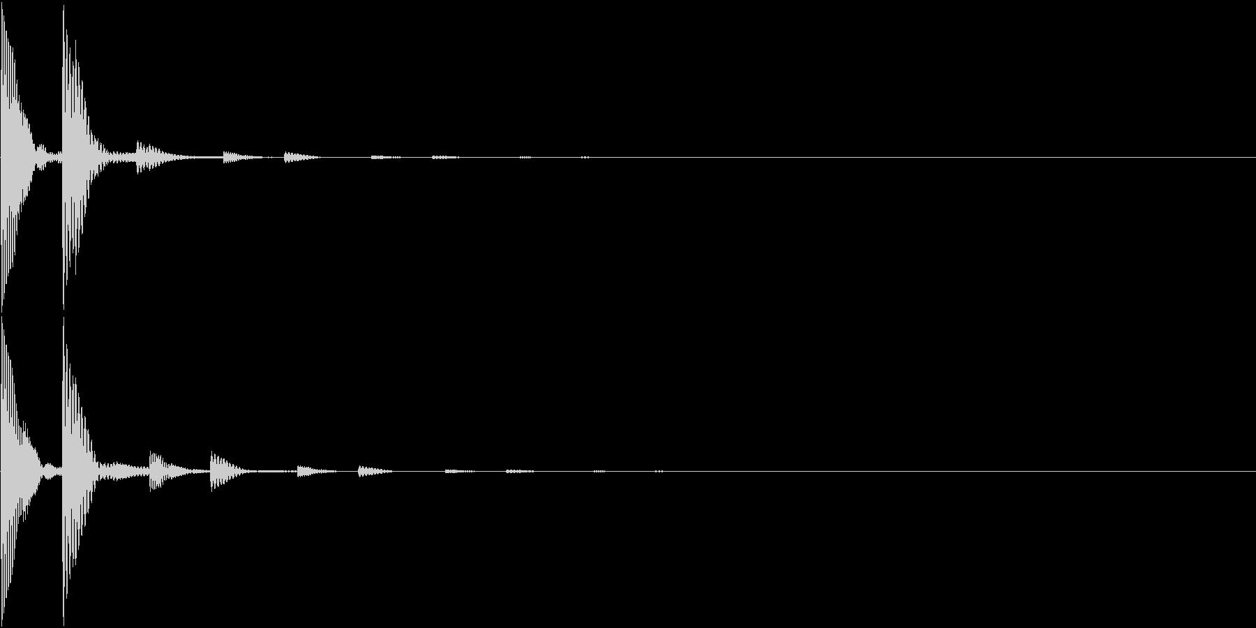 Quiz 謎解きアプリ ヒントのSEの未再生の波形