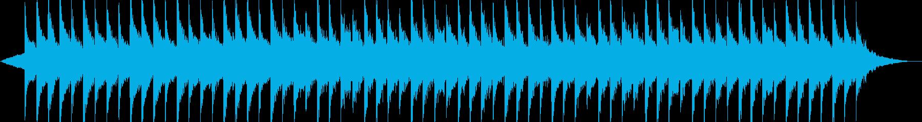 ゆったり-風景-ドローン-Vlog-PVの再生済みの波形