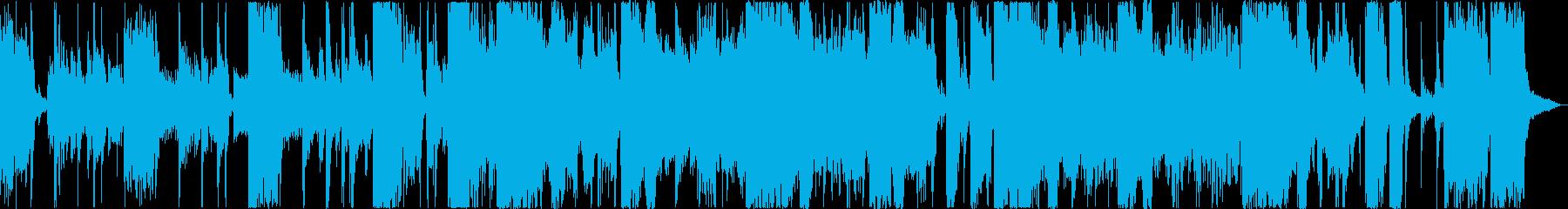 クールでゆったりとしたファンクトラックの再生済みの波形