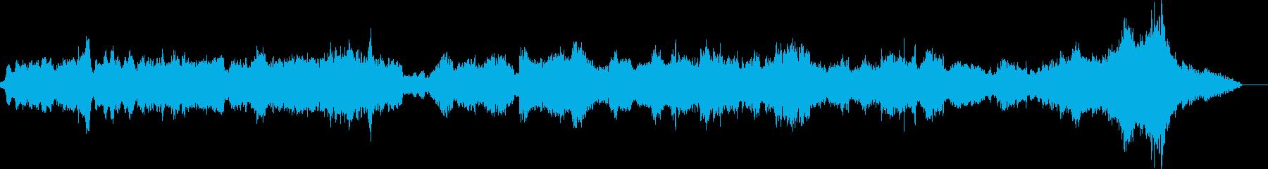 オーボエがメインのミステリアス・緊張の曲の再生済みの波形
