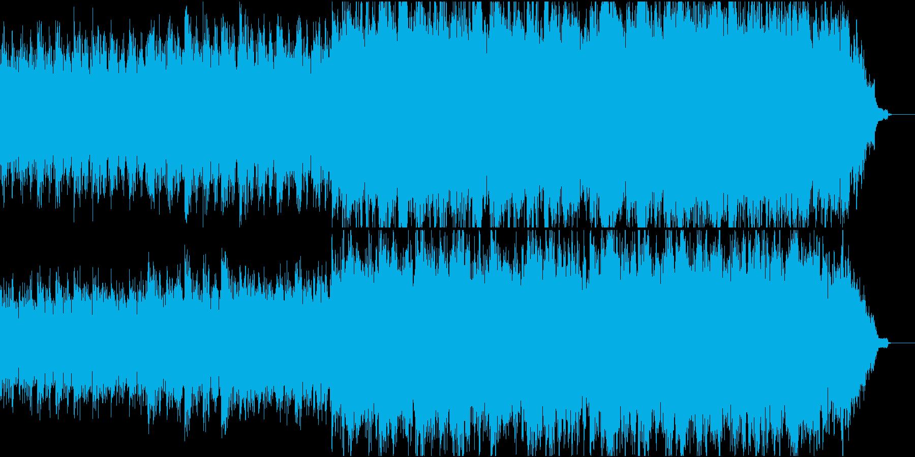 優しく感動的なピアノ+オケ②打楽器なしの再生済みの波形