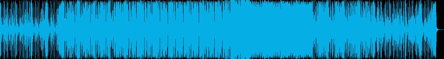 女性ボーカル/アップテンポ/EDMの再生済みの波形
