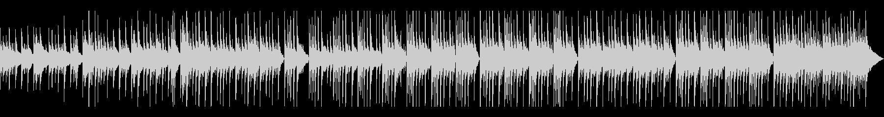 悲しくて切ないピアノバラードの未再生の波形