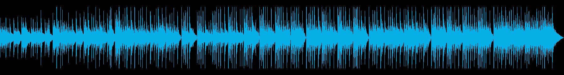 悲しくて切ないピアノバラードの再生済みの波形