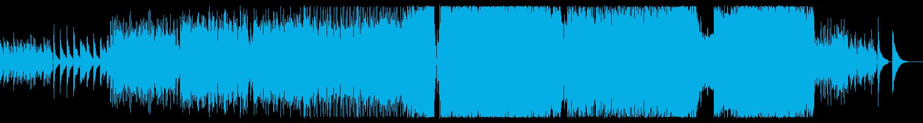 癒しアコギから始まる3拍子ロックバラードの再生済みの波形