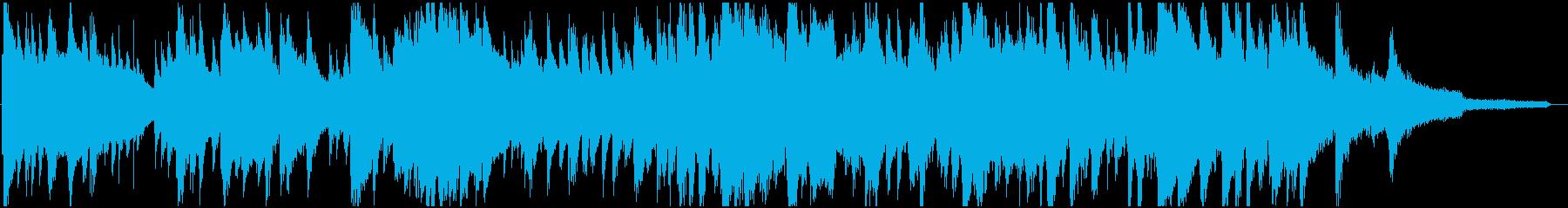 ムーディーなジャズトリオ ジングルの再生済みの波形