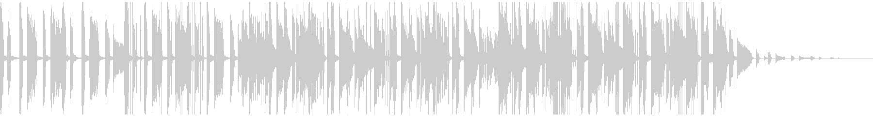 電子ピアノのクリアなモダンエレクトロの未再生の波形