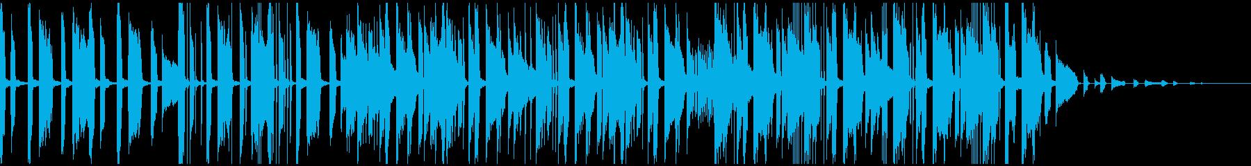 電子ピアノのクリアなモダンエレクトロの再生済みの波形