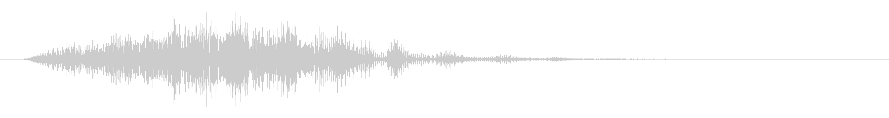 SF 移動音11の未再生の波形