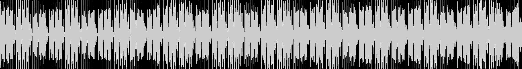明るいポジティブなエレクトロBGM、SLの未再生の波形