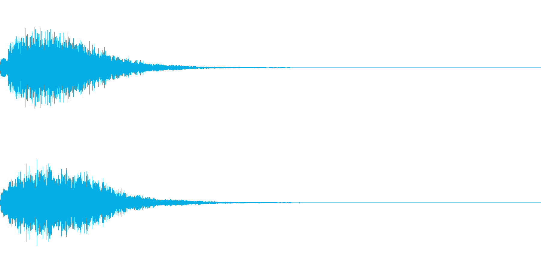 「タラララ・キラーン」すてき・場面転換の再生済みの波形