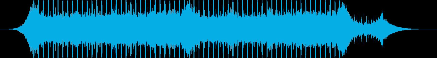 企業VP系23、爽やかギター4つ打ち2cの再生済みの波形