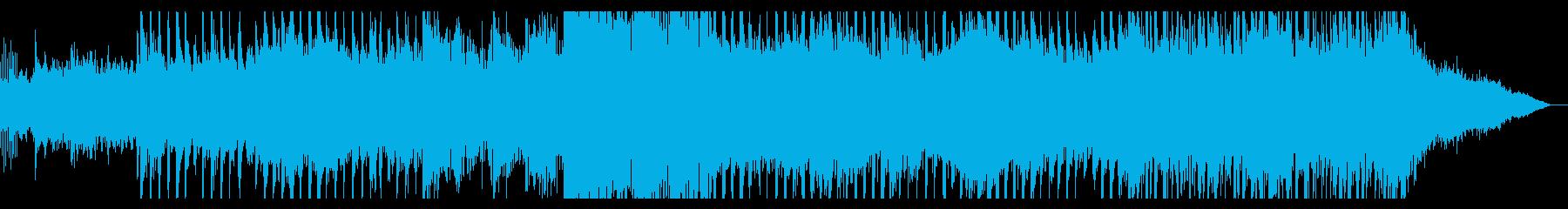 電子的でトライバルなアンビエントの再生済みの波形
