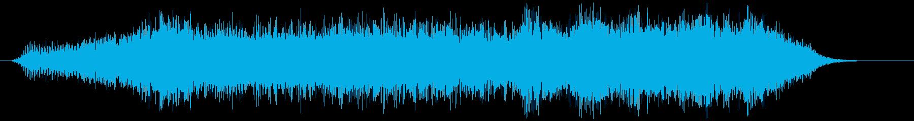 飛行機のシングルプロップ離陸Int...の再生済みの波形