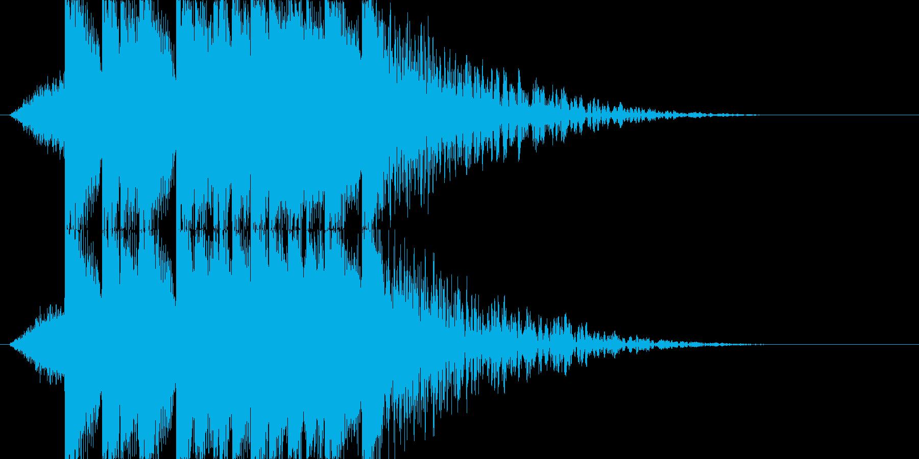 EDM ノリがいい ジングルの再生済みの波形