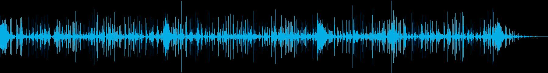 正月の音の再生済みの波形