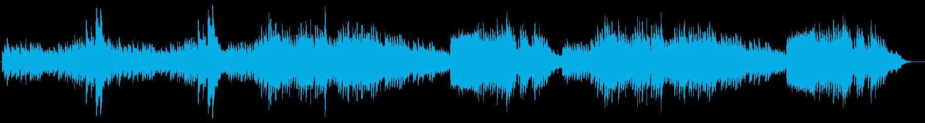 儚くも可愛らしいピアノによるメヌエットの再生済みの波形