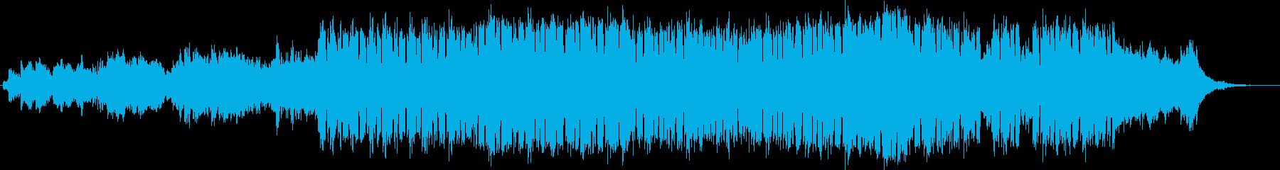 動画 技術的な 感情的 adver...の再生済みの波形