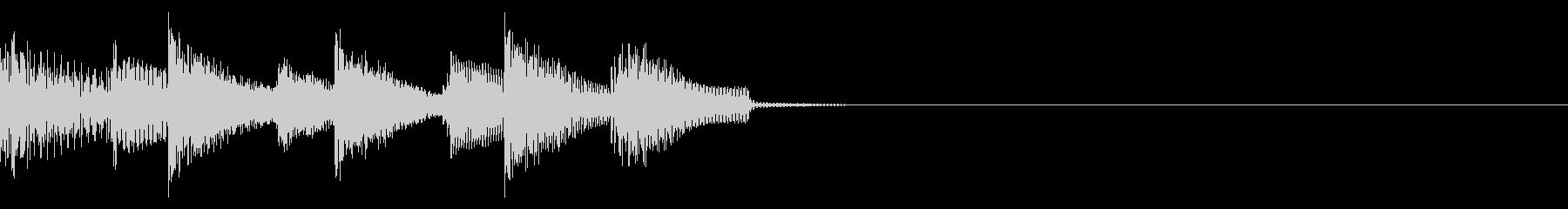 サウンドロゴ3の未再生の波形