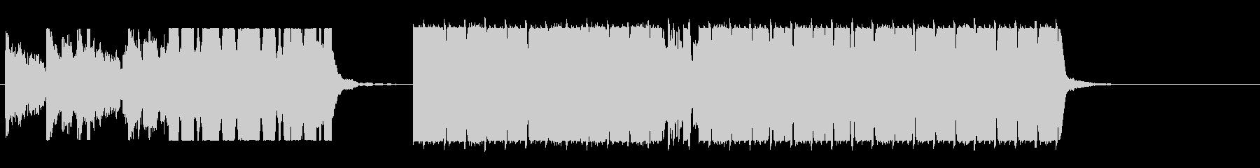 リード音が特徴的なドラムンベースの未再生の波形