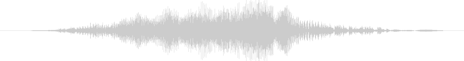 ジー(ジッパーの音※速め)の未再生の波形
