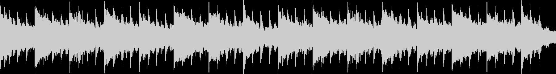 キラキラかわいいベルピアノバラードの未再生の波形