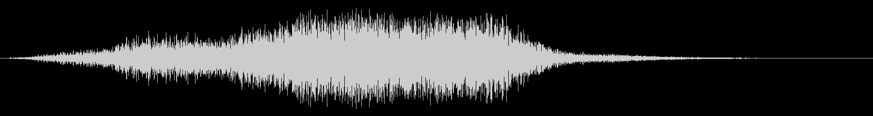 スイープ8によるアプリケーションパスの未再生の波形