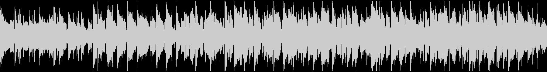 リコーダー&ピアノ、田舎 ※ループ仕様版の未再生の波形