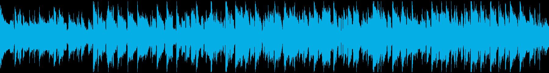 リコーダー&ピアノ、田舎 ※ループ仕様版の再生済みの波形