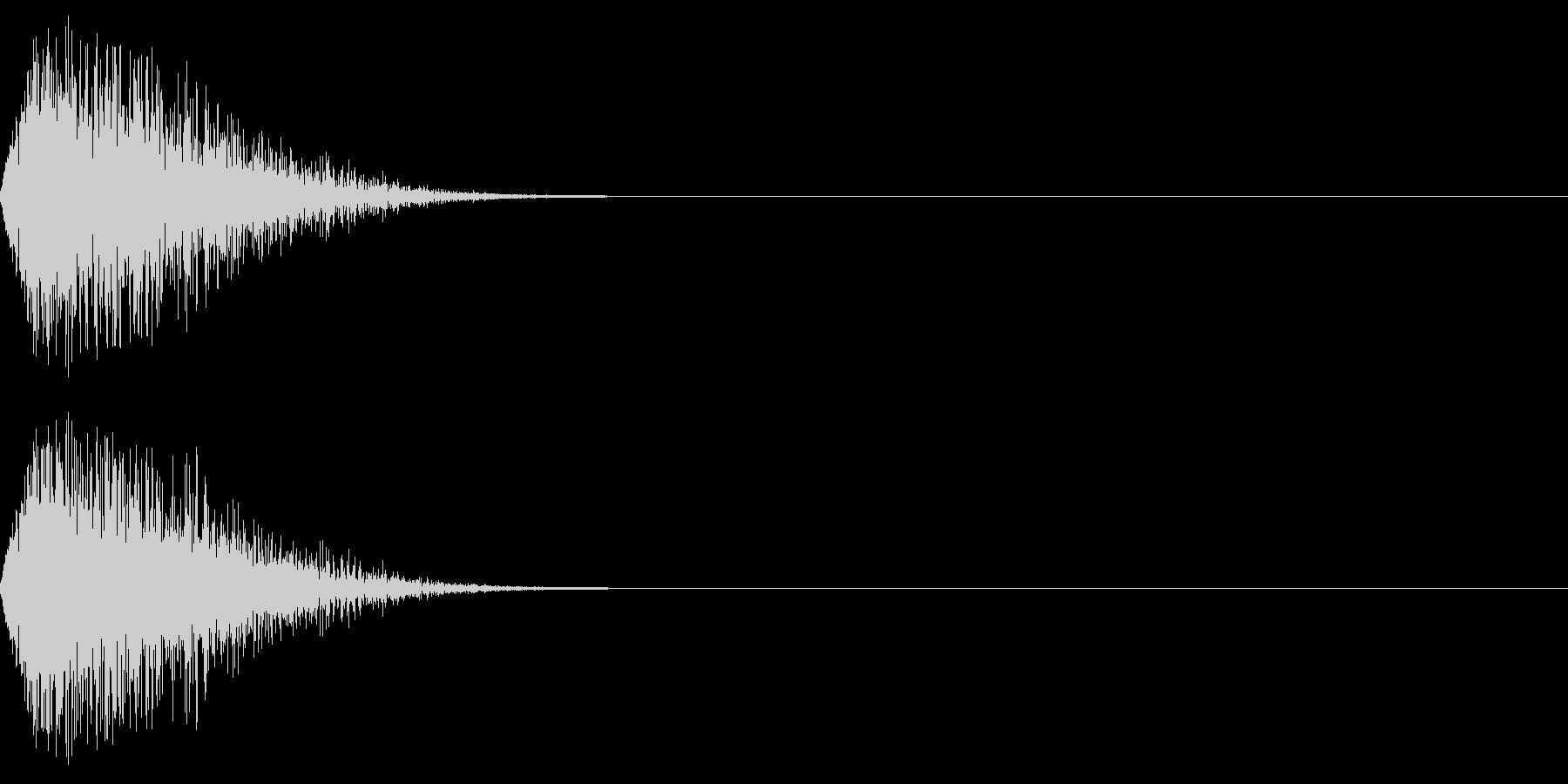 DTM Snare 14 オリジナル音源の未再生の波形