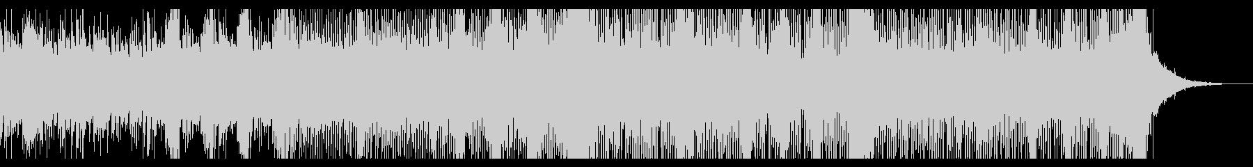 水のような音色のアンビエントIDMの未再生の波形
