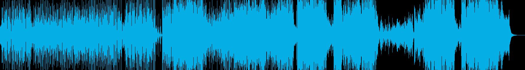 ウクレレ・南国気分のアコギポップスの再生済みの波形