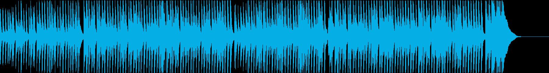 鉄琴とピアノの元気で明るいポップスの再生済みの波形