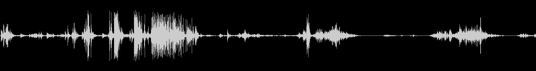 食べる音02(ポテトチップスなど)の未再生の波形