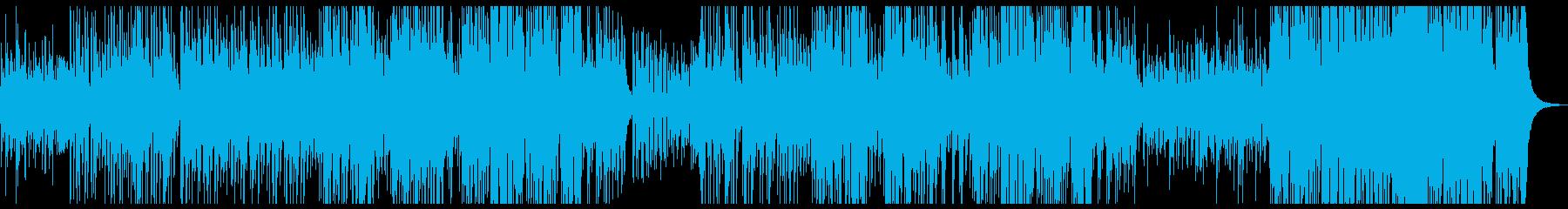 切なくお洒落なアコギエンディング曲の再生済みの波形