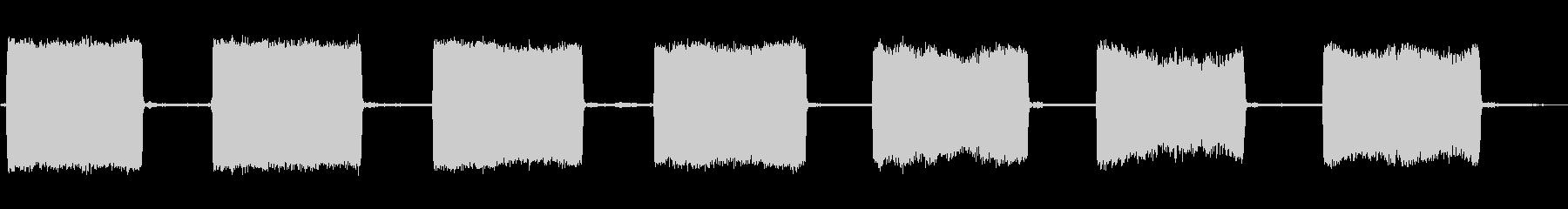 Steam Blast、X3を閉じるの未再生の波形