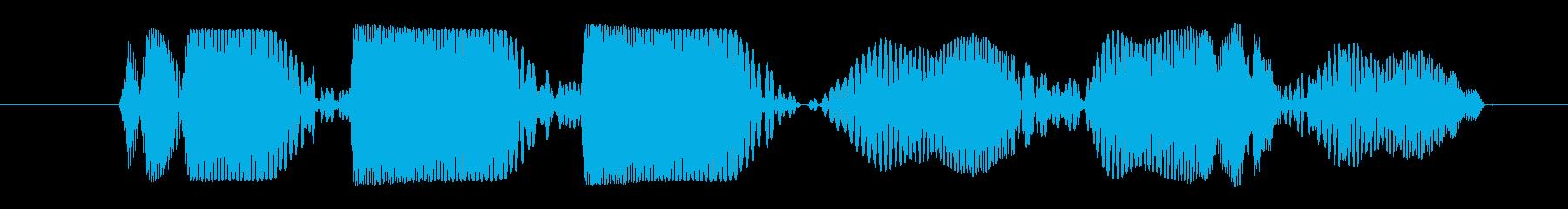 プププププイ(システム系音)の再生済みの波形