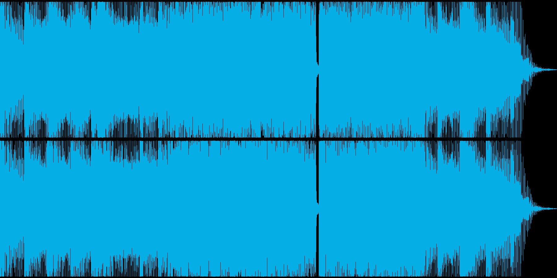 ゲームの最終局面、テクノEDMの再生済みの波形
